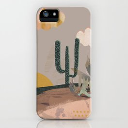 Desert Textures iPhone Case