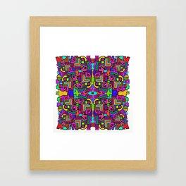 Mad Mosaic Framed Art Print