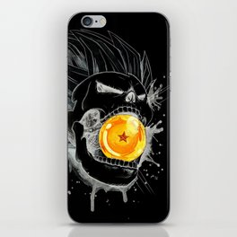 Death Crew Black Edition - Prince Vegeta iPhone Skin