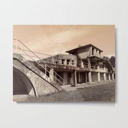 Fort Stevens, Battery Russel Metal Print