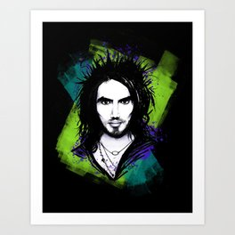 Russell Brand - Color Art Print
