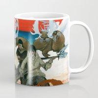 mythology Mugs featuring Inuit Mythology: Chapter 1, part 6 by Estúdio Marte
