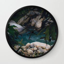 Secret Pool Wall Clock