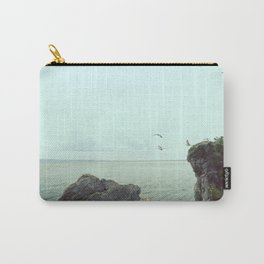 Flying on the rocks Carry-All Pouch