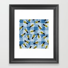 Blueberry Jam Framed Art Print