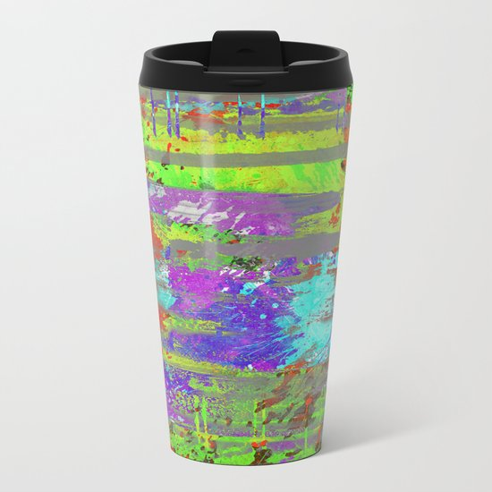 Colour Injection II Metal Travel Mug
