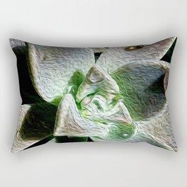Textured Succulent Rectangular Pillow
