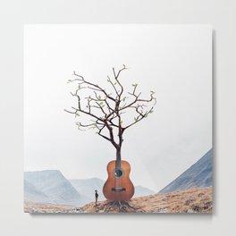 Guitar Tree Metal Print