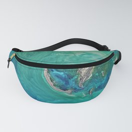Blue Ocean Fanny Pack