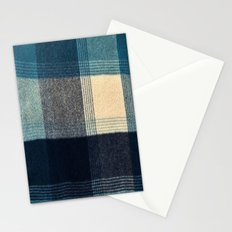 Abstract Flannel Stationery Cards