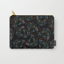 Black Cat Spell Carry-All Pouch