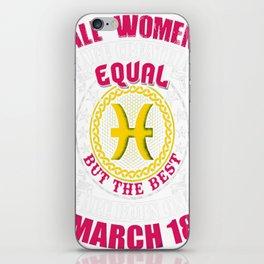 Best-Women-Born-On-March-18-Pisces---Sao-chép iPhone Skin