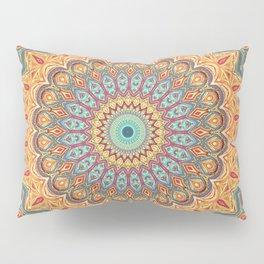 Jewel Mandala - Mandala Art Pillow Sham