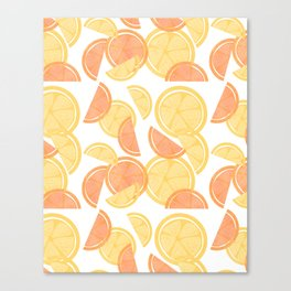14 Citrus Showers Canvas Print