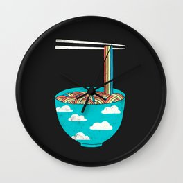 Rain-Bowl Wall Clock