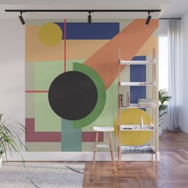 Abstract geometric composition study- Space Wall Mural