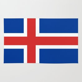 Flag: Iceland Rug