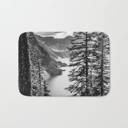 Forest Lake Retreat - Crater Lake Bath Mat