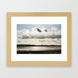 A Gulp Framed Art Print