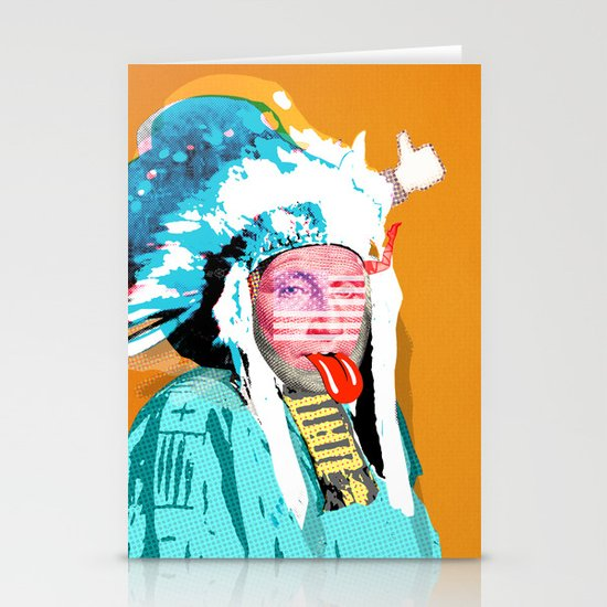 Indian Pop 95 Stationery Cards
