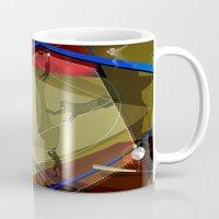 baseball Mugs featuring Baseball by Robin Curtiss
