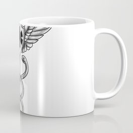 Caduceus Pilot Wings EMT Star Tattoo Coffee Mug