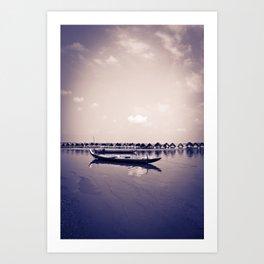 Mekong still Art Print