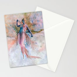 Space Siren Stationery Cards