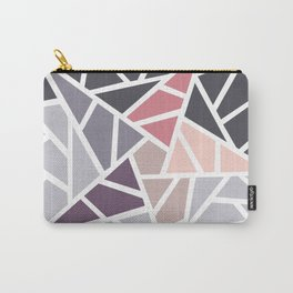 Contemporary Mosaic Star Design Carry-All Pouch