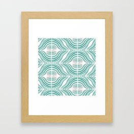 Contour 1 Framed Art Print
