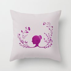 back then  Throw Pillow