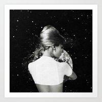 Fill the moon (2015) Art Print