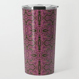 Elegant Victorian Ornament from a Modern Mind Travel Mug