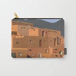 Mexico Taos Pueblo Carry-All Pouch