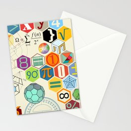 Math in color Stationery Cards