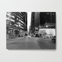 Chicago Business Center | after work Metal Print