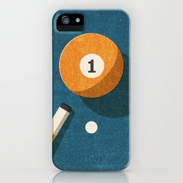 BILLIARDS / Ball 1 iPhone Case