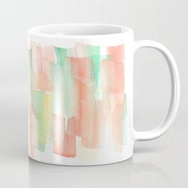 [161228] 6. Abstract Watercolour Color Study |Watercolor Brush Stroke Coffee Mug