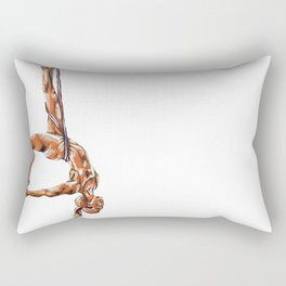 Touch Your Toes Rectangular Pillow