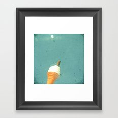 99 Flake Framed Art Print