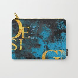 Design is Art Carry-All Pouch