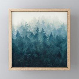 The Heart Of My Heart // So Far From Home Edit Framed Mini Art Print