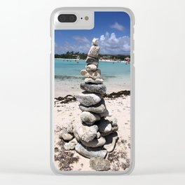 Wishing stones Clear iPhone Case