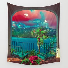 Island Home Wall Tapestry