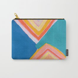 Triangle Rainbow Carry-All Pouch