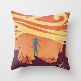 The Bloodiest Hands Throw Pillow