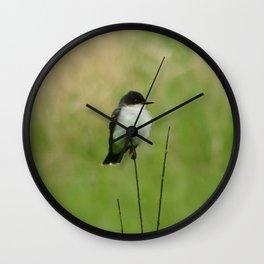 Eastern Kingbird Wall Clock