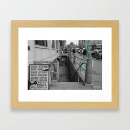 Unseen Monsters of New York - Zugswang Sharp Framed Art Print