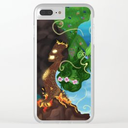 Te Ka, Te Fiti Clear iPhone Case