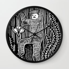 What's Hiding Out There? Wall Clock